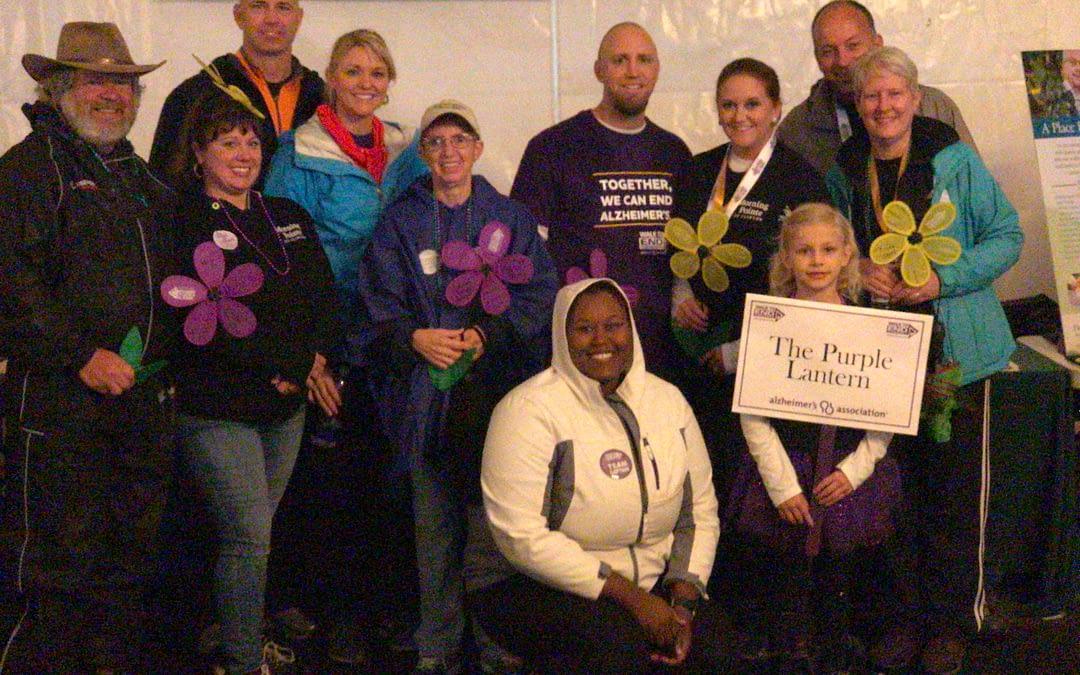 Morning Pointe Makes Strides at Alzheimer's Walk