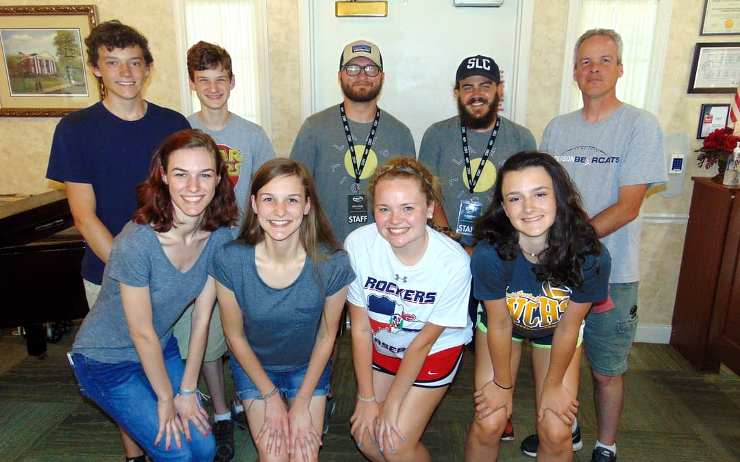 Morning Pointe Hosts New Hope Baptist Student Camp