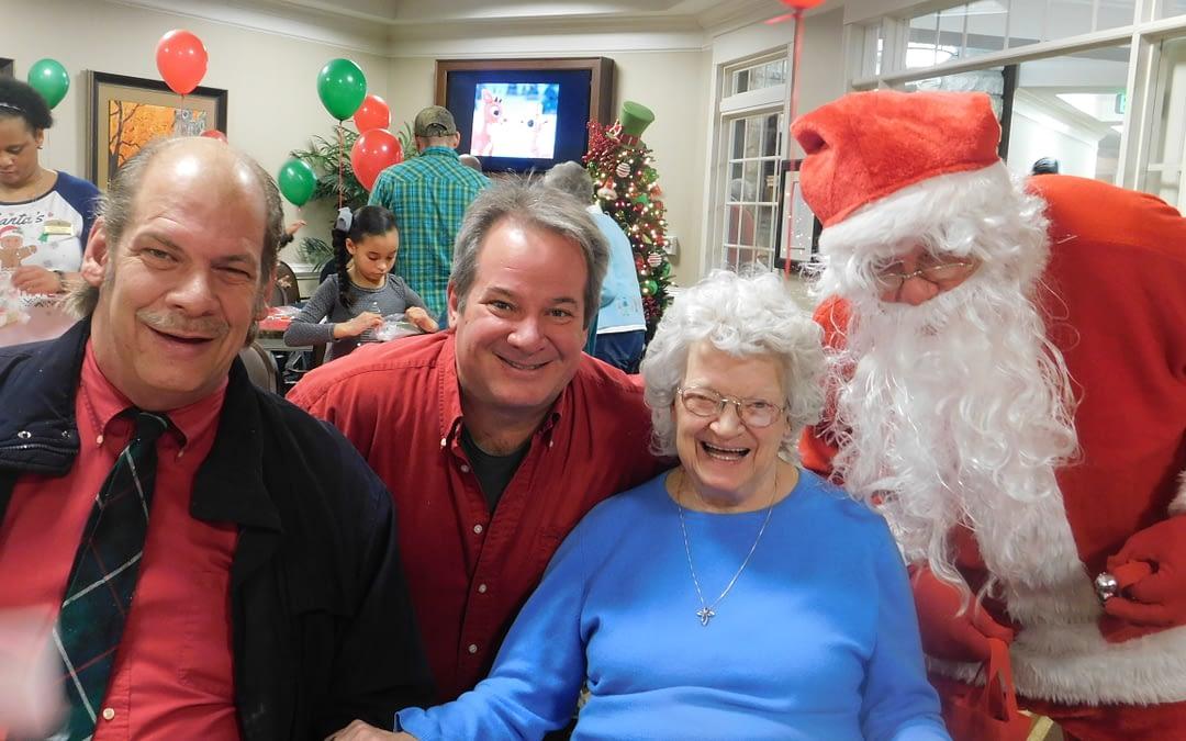 Morning Pointe Seniors Celebrate First Christmas