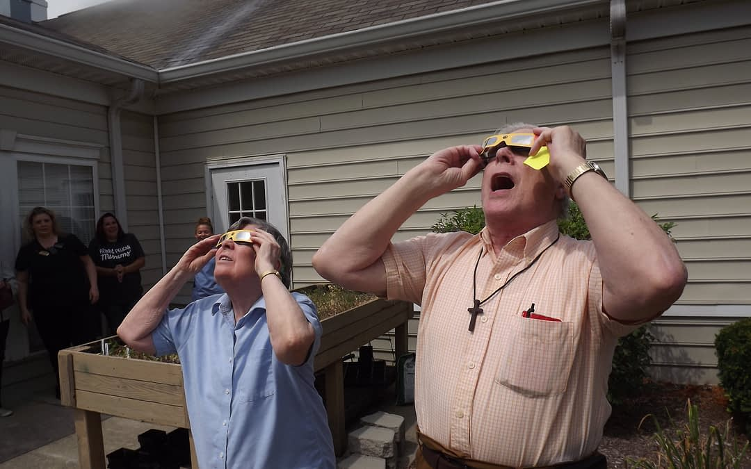 Morning Pointe Seniors Witness Solar Eclipse
