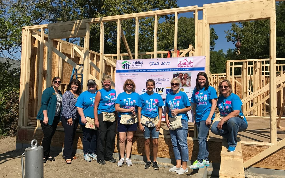 Morning Pointe, Habitat for Humanity Build Doors to Future