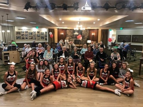 Hillsboro Middle Hosts Pre-game Pep Rally at Morning Pointe
