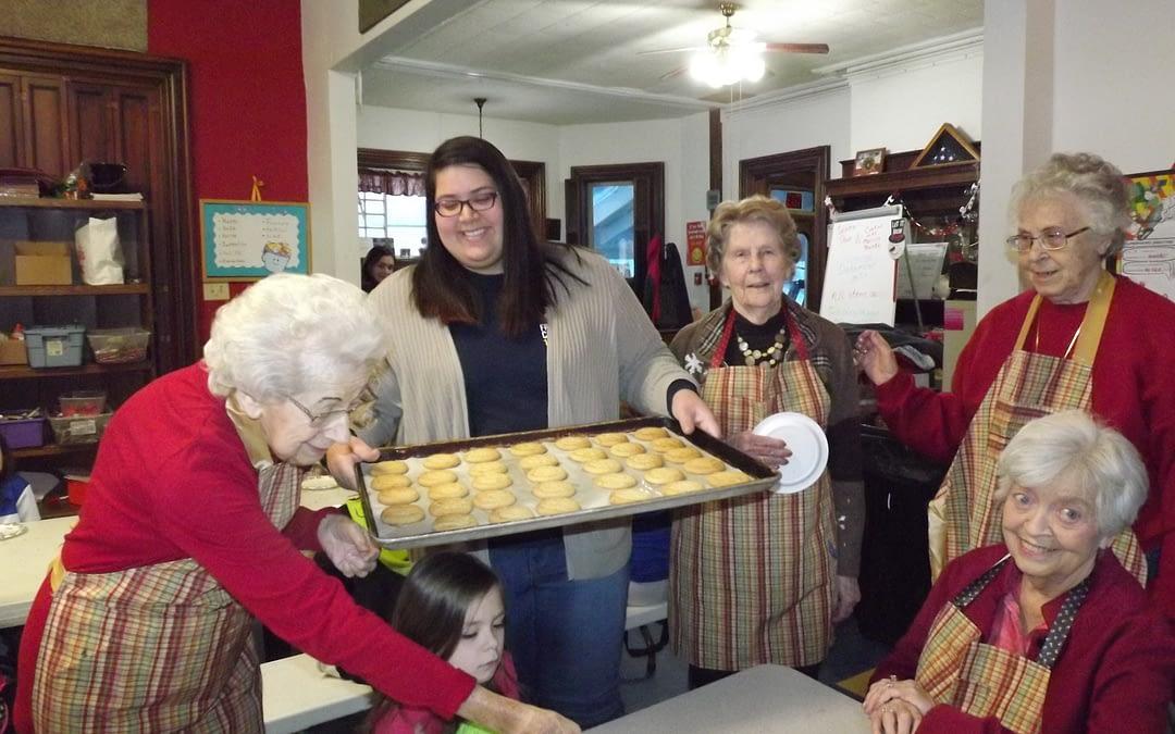 Girls Inc. Bake Cookies, Make Memories with Morning Pointe Residents