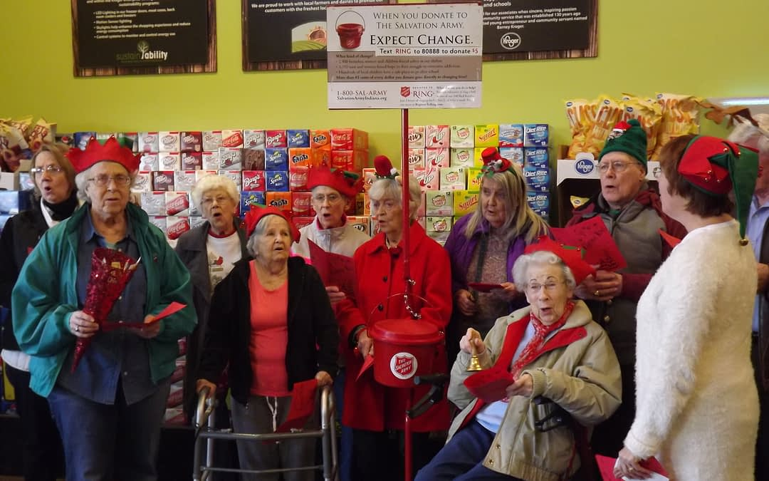 Morning Pointe Seniors Step Up for Salvation Army