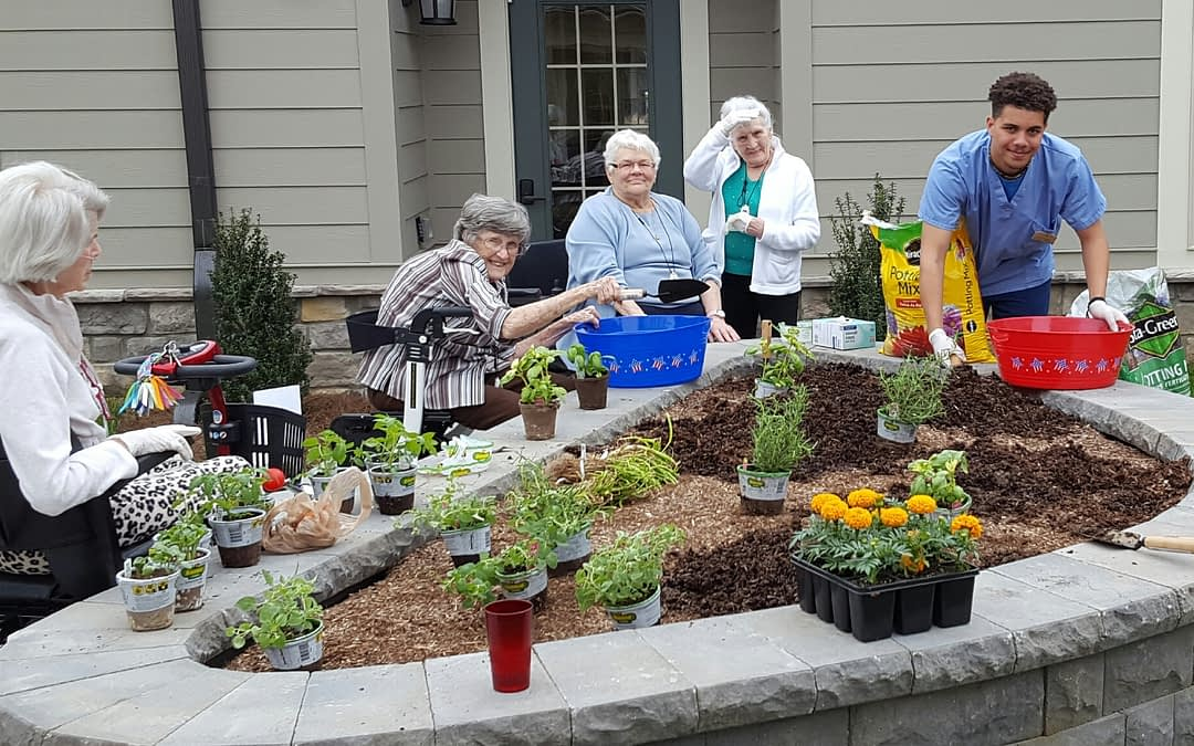 Residents Enjoy the Taste of Summer at Morning Pointe