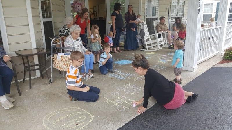 Morning Pointe, Homeschoolers Enjoy Summer in the Shade