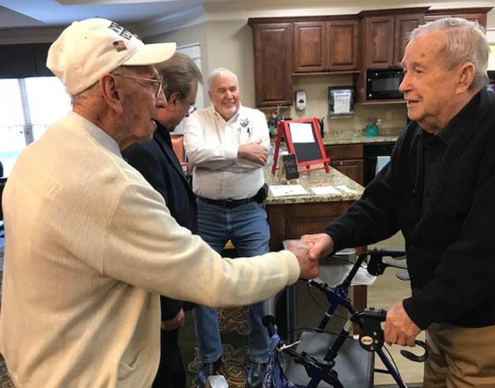Morning Pointe Veterans to Visit WWII Memorial Courtesy of Honor Flight Bluegrass