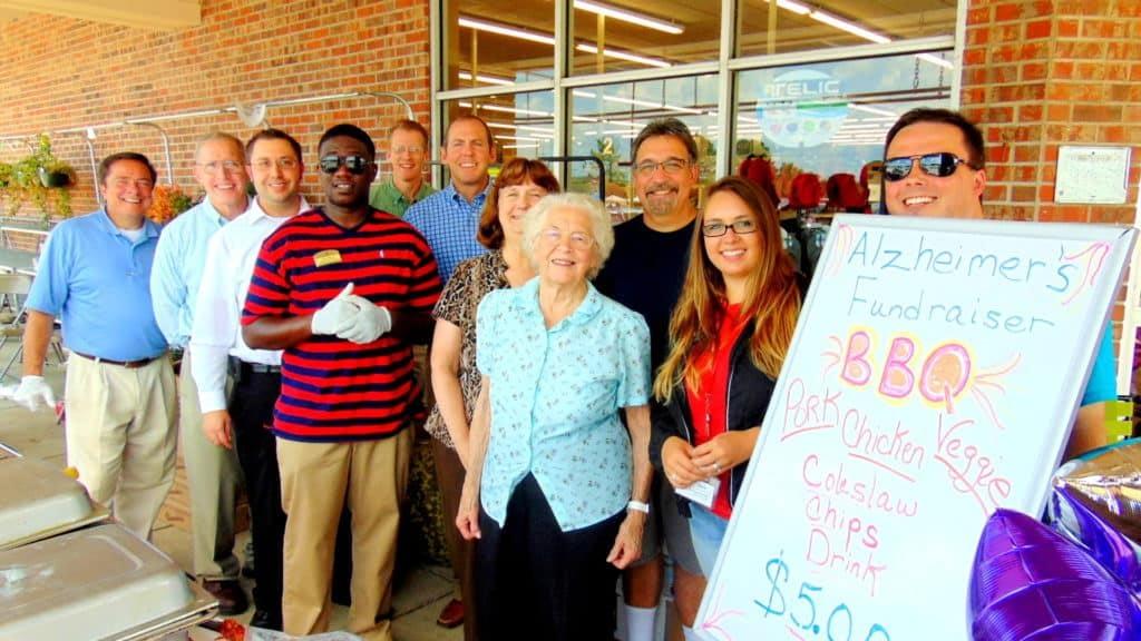 Morning Pointe Hosts BBQ Fundraiser for Alzheimer's