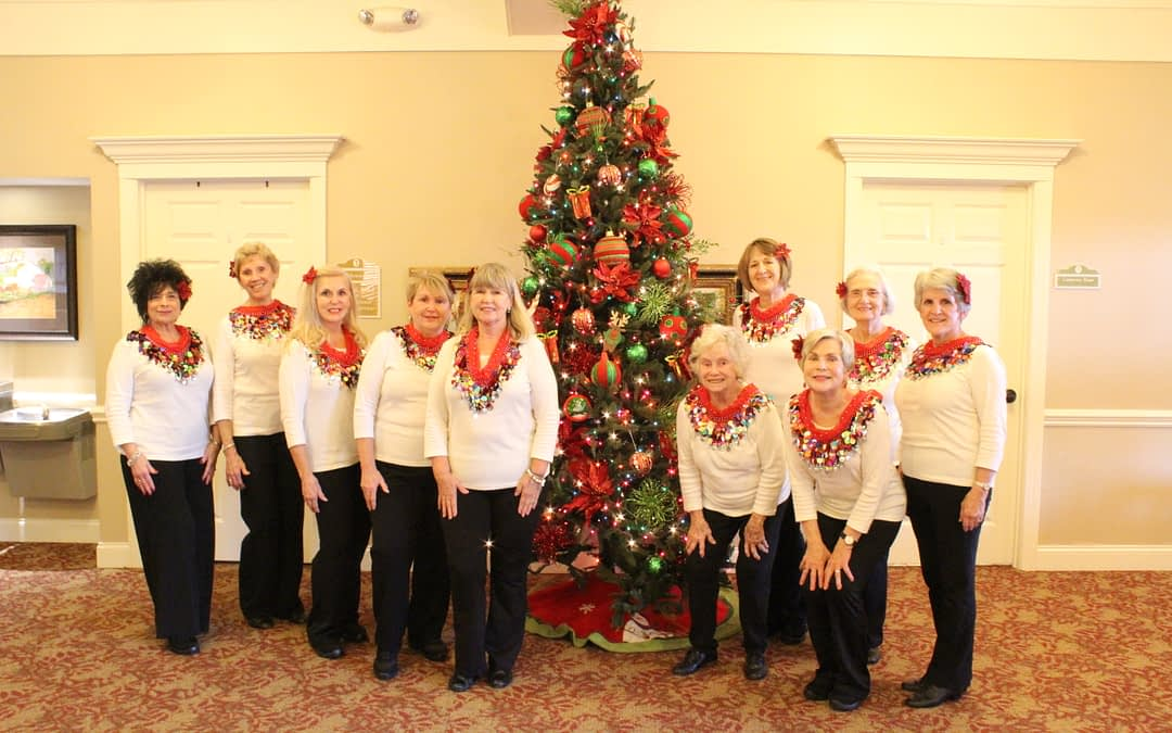 'Energizers' Dance Group Bring Spirited Performance to Morning Pointe