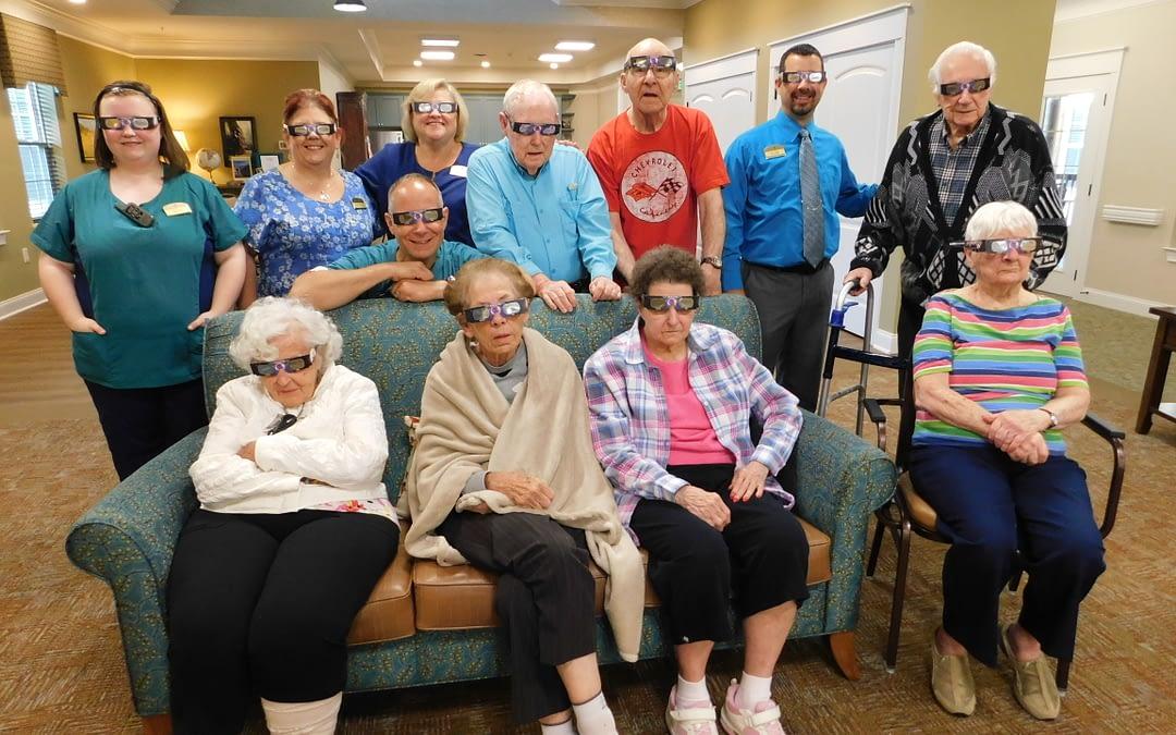 Morning Pointe Seniors Witness Solar Eclipse