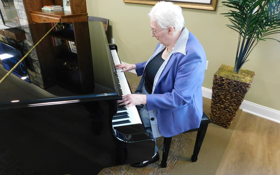 Morning Pointe Makes Music During Piano Dedication Ceremony