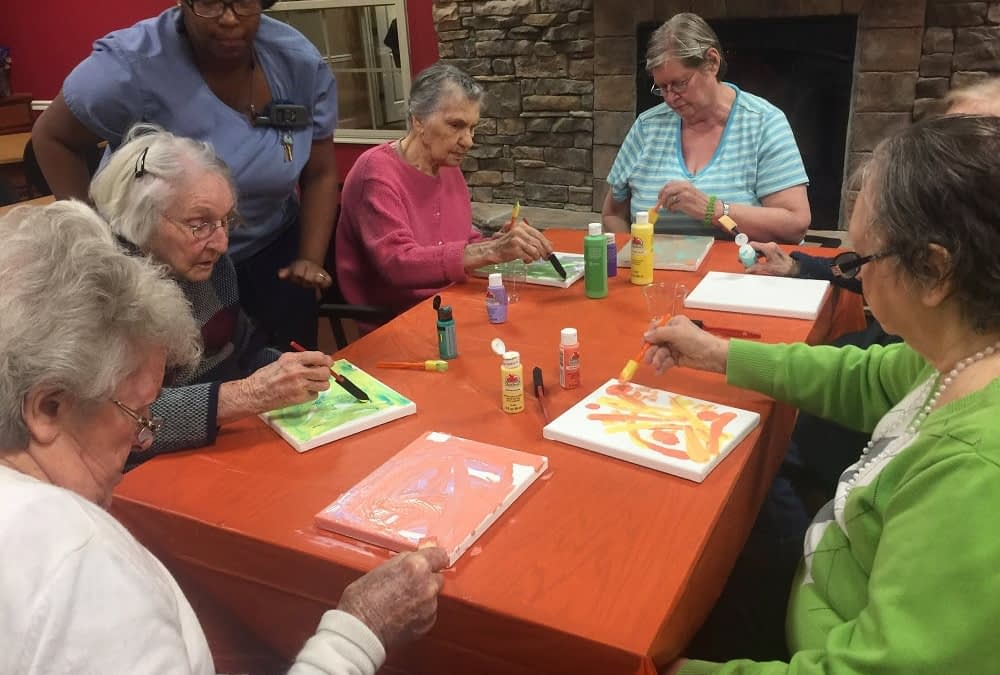 Alzheimer's Art Auction to Feature Work of Morning Pointe Seniors