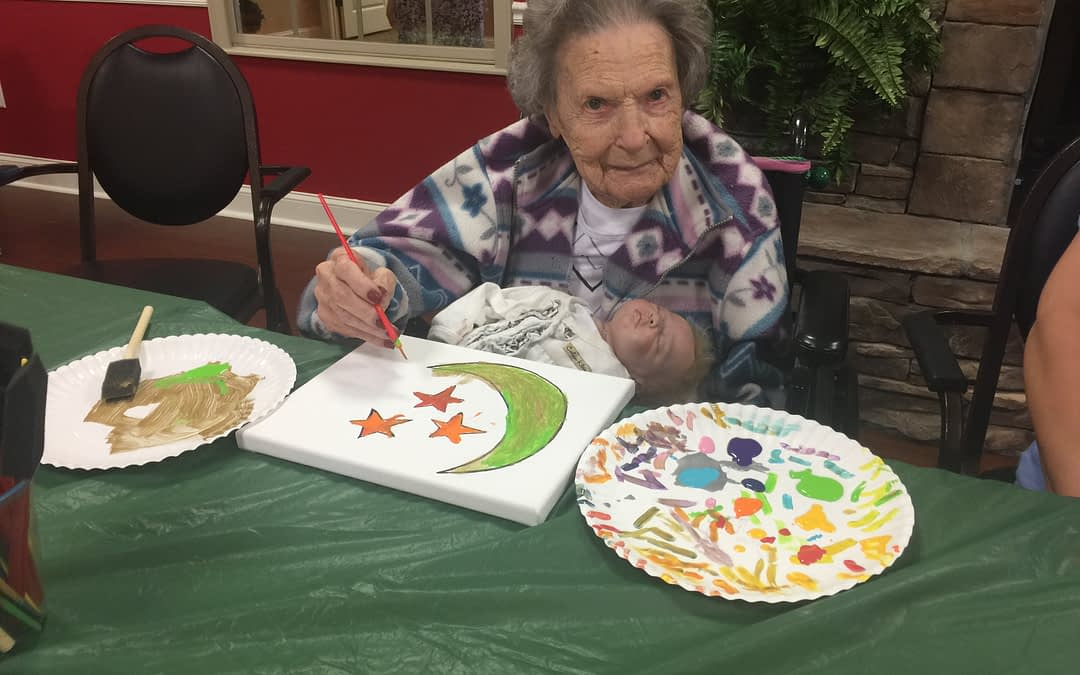 Morning Pointe Auctions Art for Alzheimer's