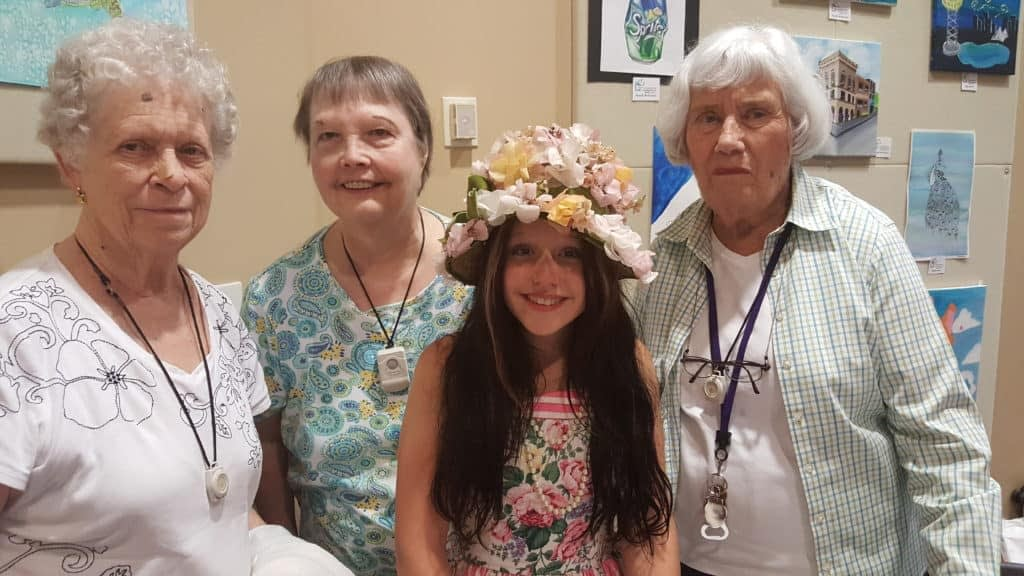 Morning Pointe Residents Meet Young Country Star EmiSunshine