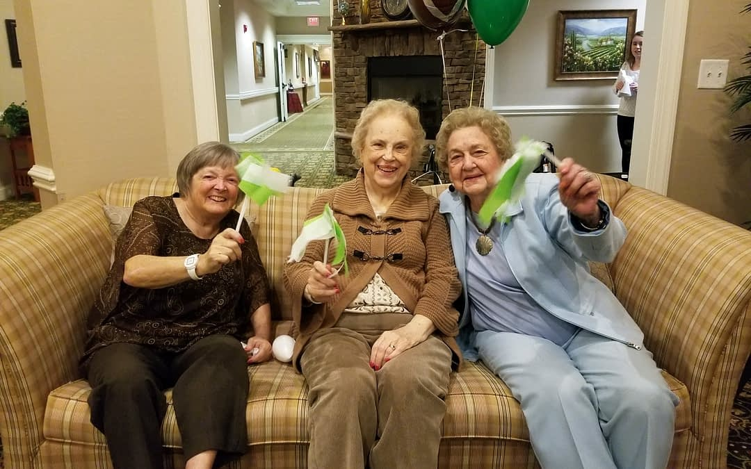 Seniors Celebrate Super Bowl Sunday at Morning Pointe