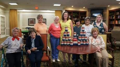 Morning Pointe Residents Celebrate Patriotism with Creativity