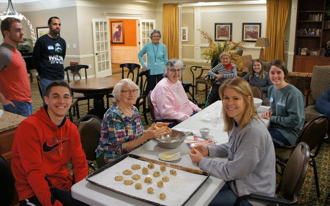 Morning Pointe, UK Wildcats Make Cookies for a Cause