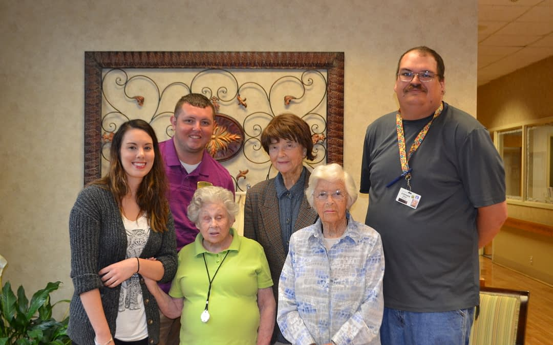 Morning Pointe Pays it Forward to Thompson-Hood Patients