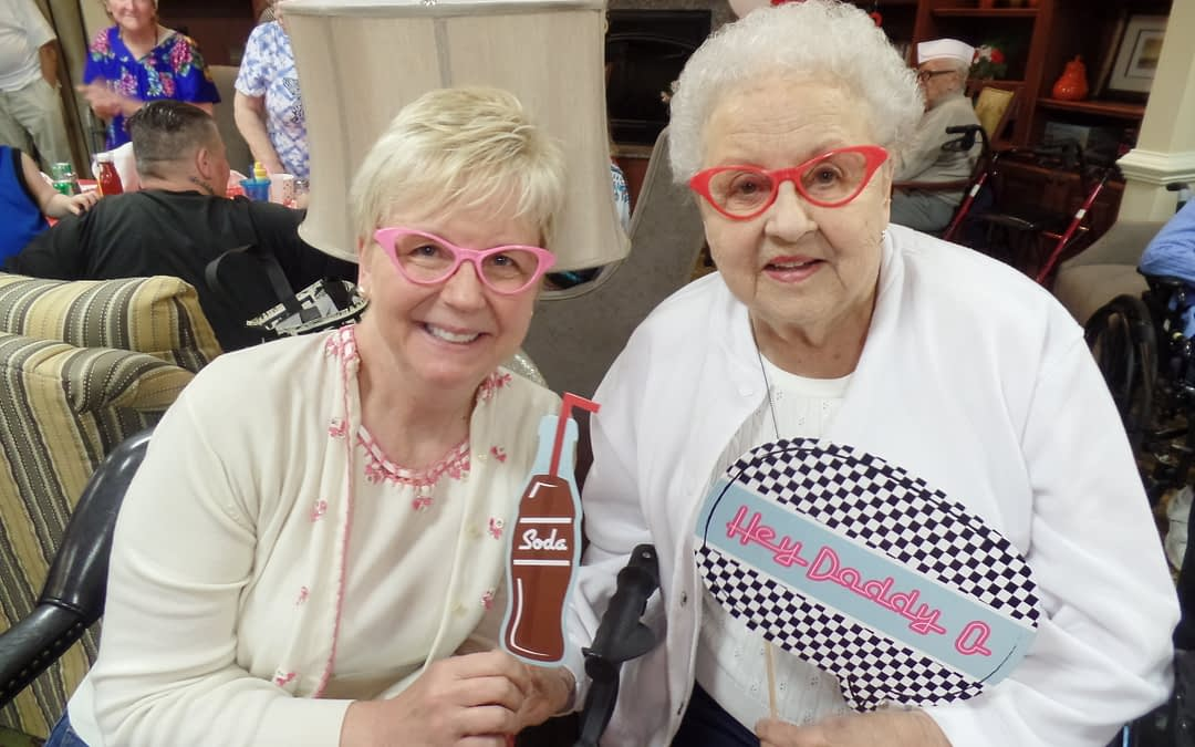 Morning Pointe Hosts '50s-themed Family Night
