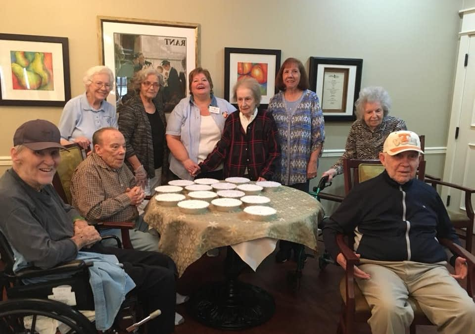 Morning Pointe Residents Make Meals that Matter