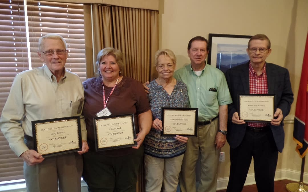 Dedicated Volunteer Recognized at Morning Pointe During National Volunteer Week