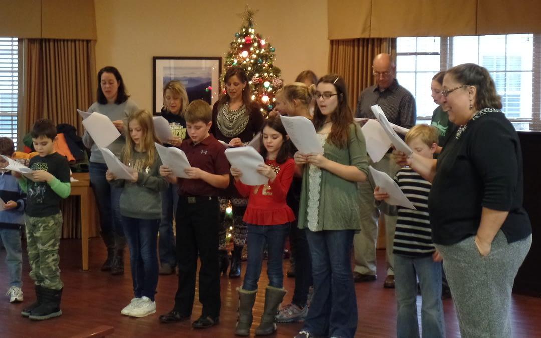 Morning Pointe Seniors, St. Albert Choir Sing Songs of the Season