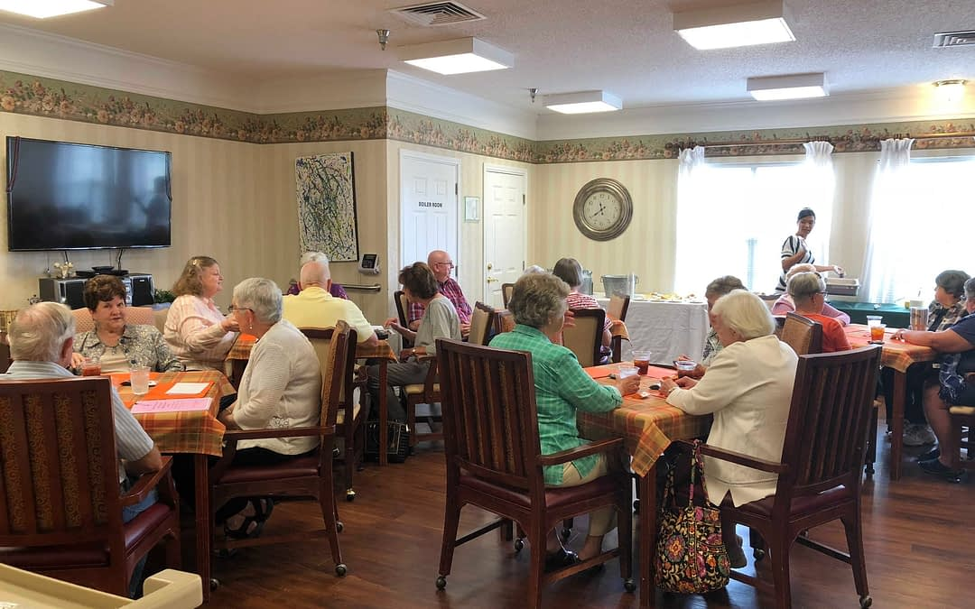 Morning Pointe Hosts Annual Retired Teacher's Luncheon