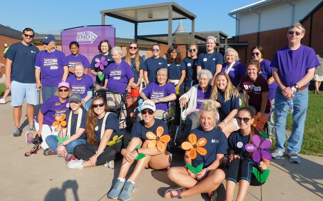 Morning Pointe Seniors Take Strides for Alzheimer's