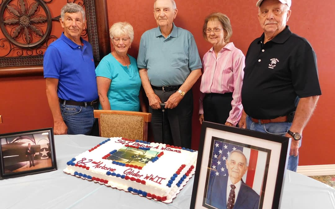 Morning Pointe Resident, Decorated Veteran, Celebrates 95th Birthday