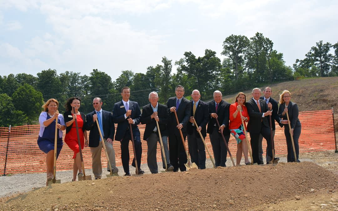 Morning Pointe Celebrates Groundbreaking in Russell