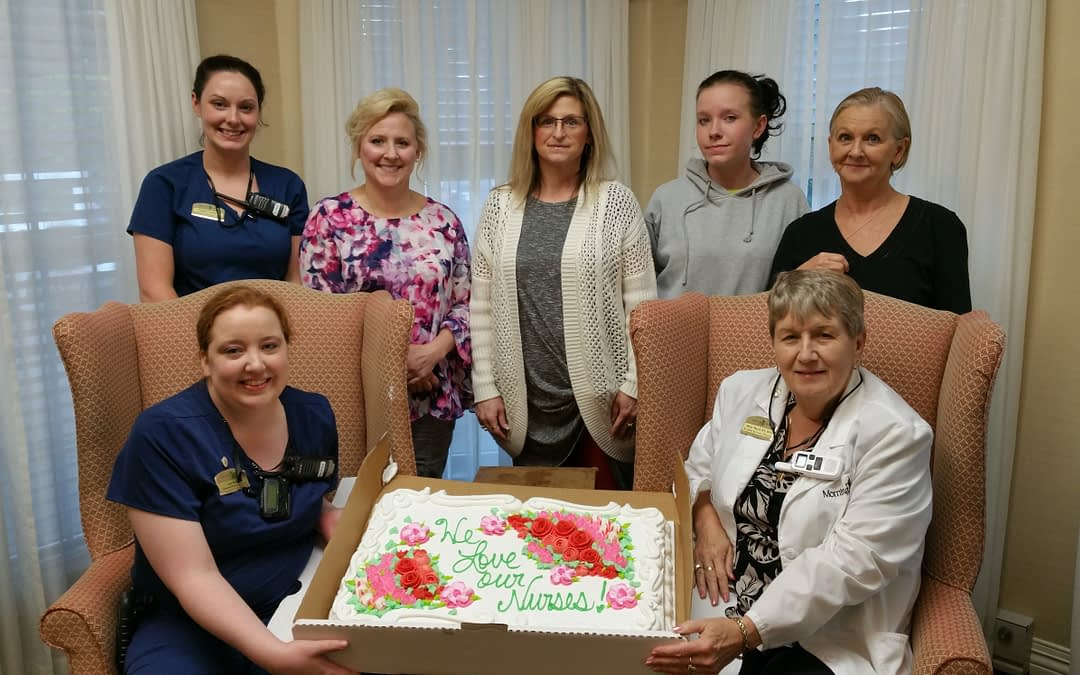 Morning Pointe Seniors Salute Nurses