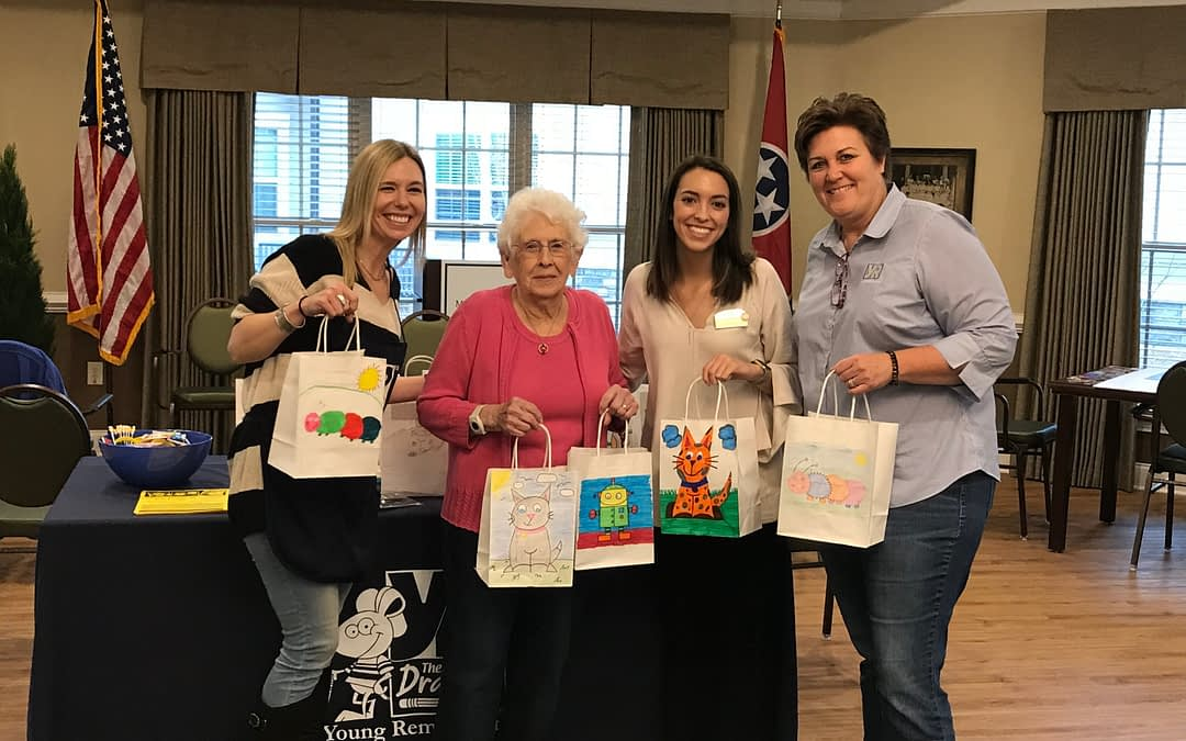 Young Rembrandts, Morning Pointe Get Creative for a Cause