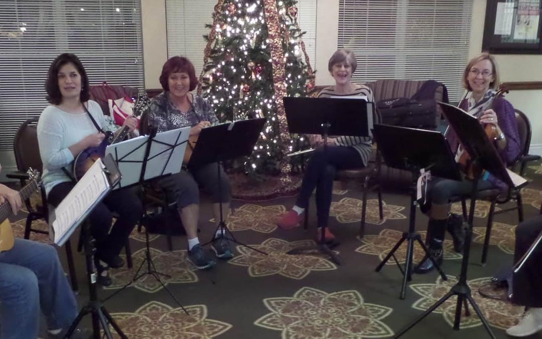 Broad Band Brings Songs of the Season at Morning Pointe