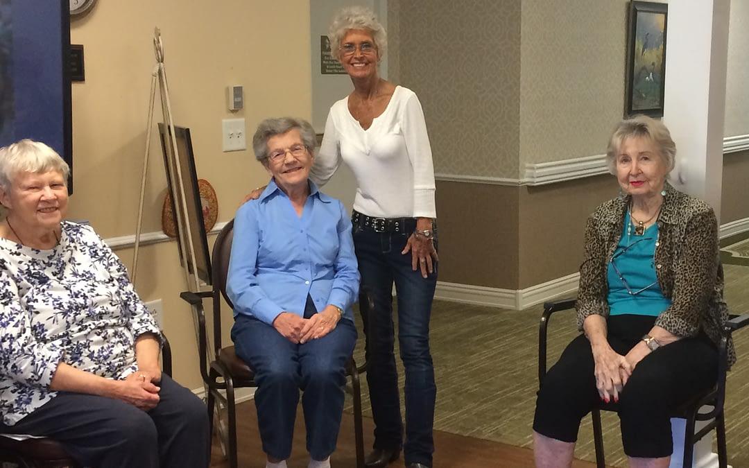 Volunteer Keeps Seniors in Motion at Morning Pointe