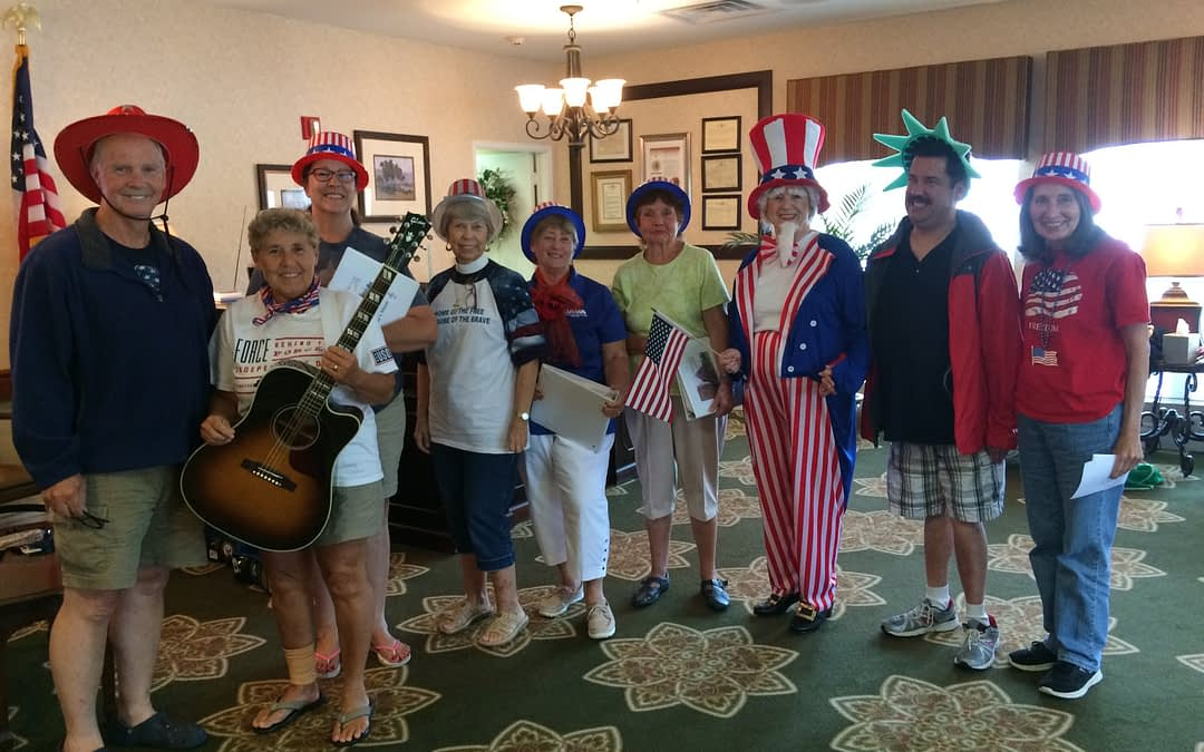 Sonrise Singers Lift Voices at Morning Pointe