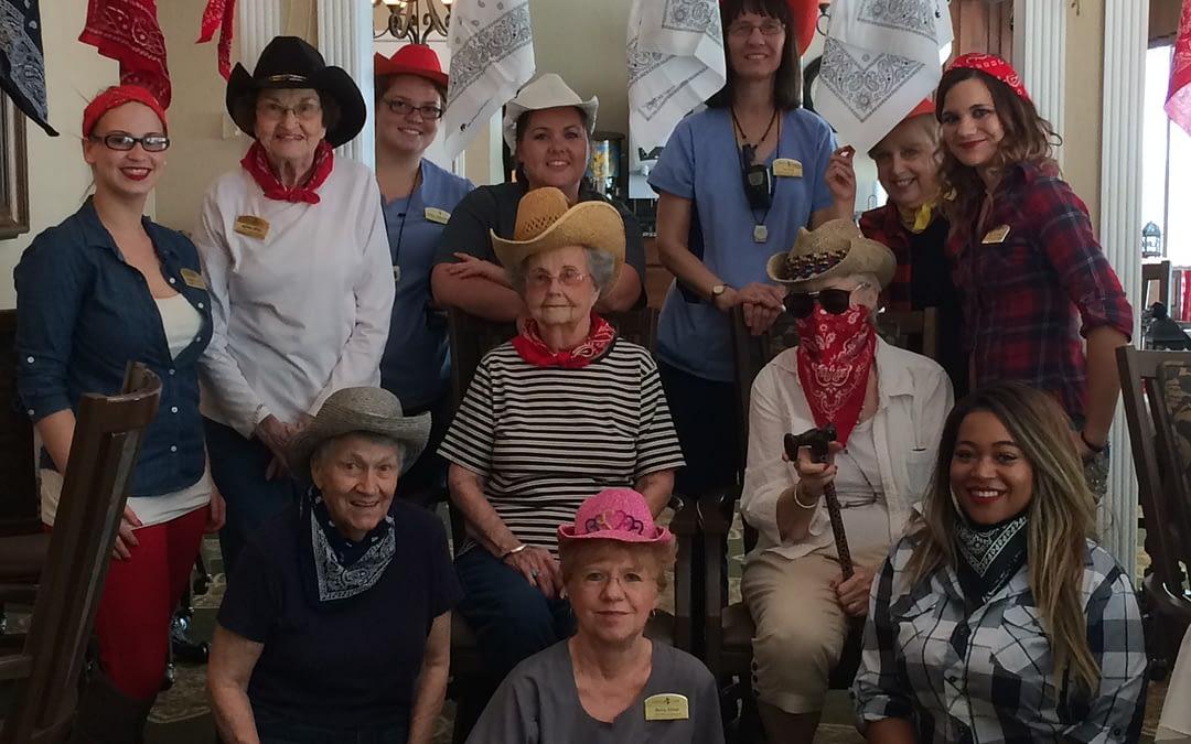 "Morning Pointe Seniors Celebrate the ""Wild Wild West"""