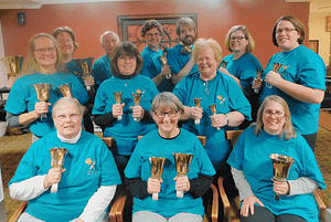 Bell Choir Brings Melodies to Morning Pointe