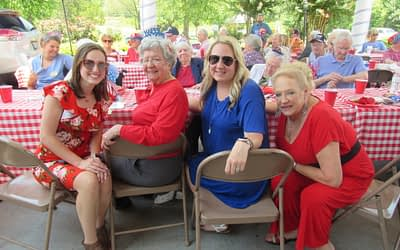 """Morning Pointe """"Red, White, and Bluegrass"""" Event an Independence Day Hit"""