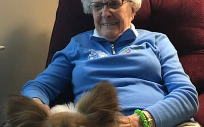 WAGS Pet Therapy Visits Morning Pointe