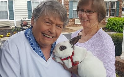 Visiting Rabbit Brings Pet Therapy, Easter Cheer to Morning Pointe