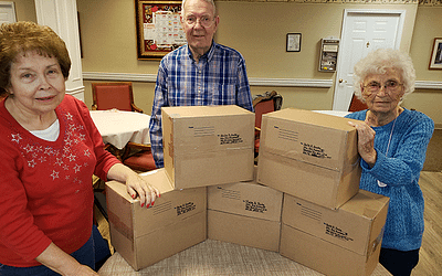 Columbia: Air Force Care Packages