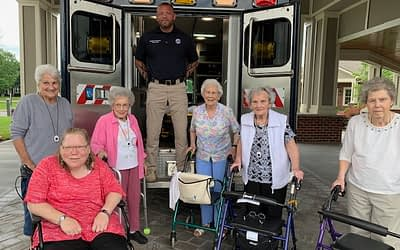 Morning Pointe Gives Back to Local EMS Personnel