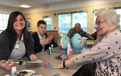 Greeneville Adventist Academy Visits Morning Pointe