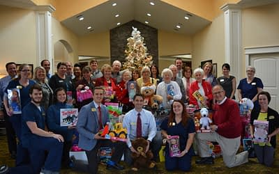 Morning Pointe, Samaritan Center Celebrate 6th Annual Holiday Toy Drive