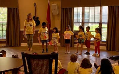 FSSD Summer Reading Camp Performs at Morning Pointe