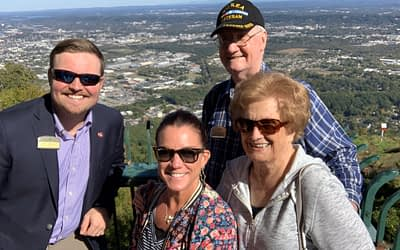 Morning Pointe Residents Visit Incline Railway