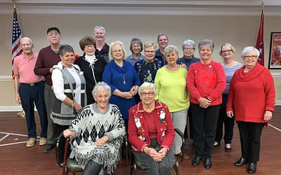 Silverdale Baptist Senior Choir Performs at Morning Pointe