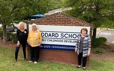Morning Pointe Residents Volunteer at the Goddard School