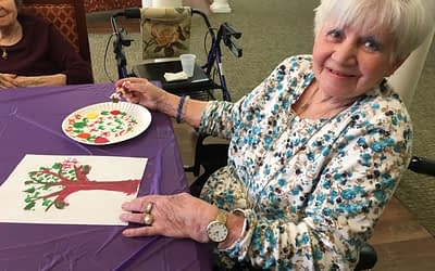 Roane State Art Department Partners with Morning Pointe