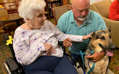 Resident Family Member Gets Involved with Morning Pointe Pet Therapy